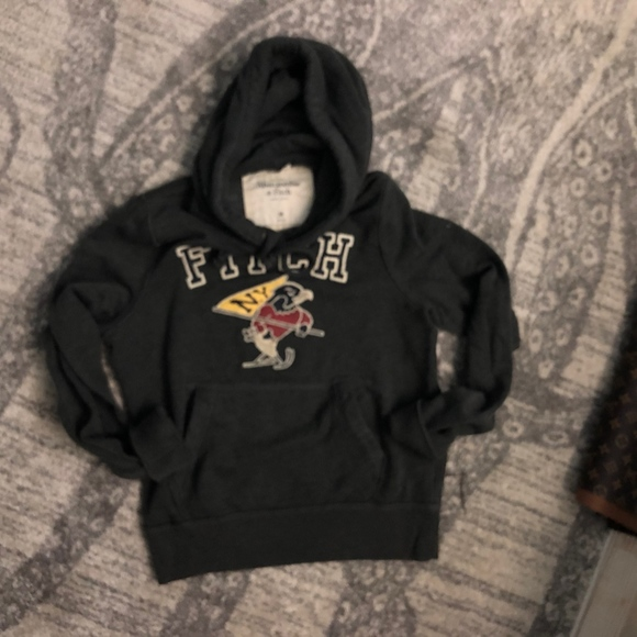 Abercrombie & Fitch Other - M abercrombie  and fitch hoodie dark gray